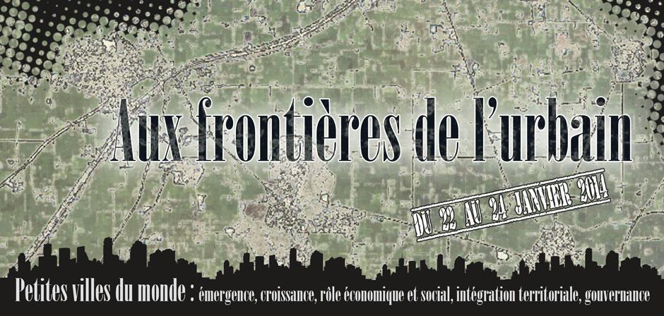 Aux Frontières de l'urbain
